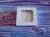 Коробка для пряников, конфет с окошком, 8* 8* 3.5 см