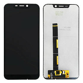 Дисплей (екран) для Blackview A30 з сенсором (тачскріном) черный Оригінал
