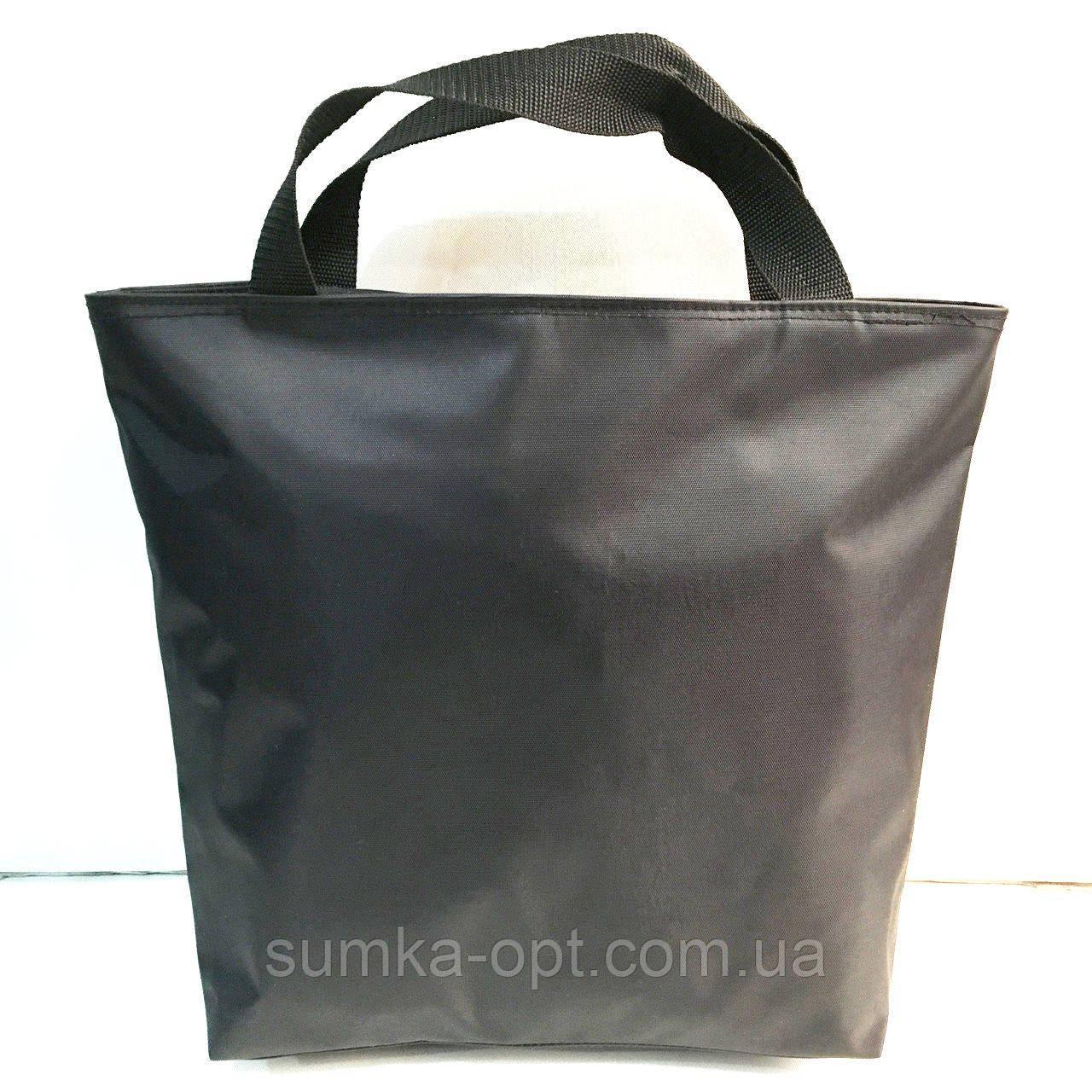 Универсальные женские сумки оптом из искусств.кожи (черный)33*40см
