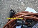 Провода зажигания Зил 130, медь , коричневые 9 штук (ЧП Струм, Украина), фото 2