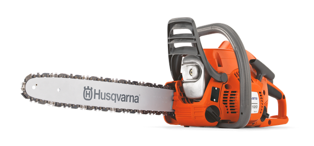 Бензопила Husqvarna 120 Mark II студийная фотография