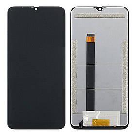 Дисплей (екран) для Blackview A60 з сенсором (тачскріном) черный Оригінал