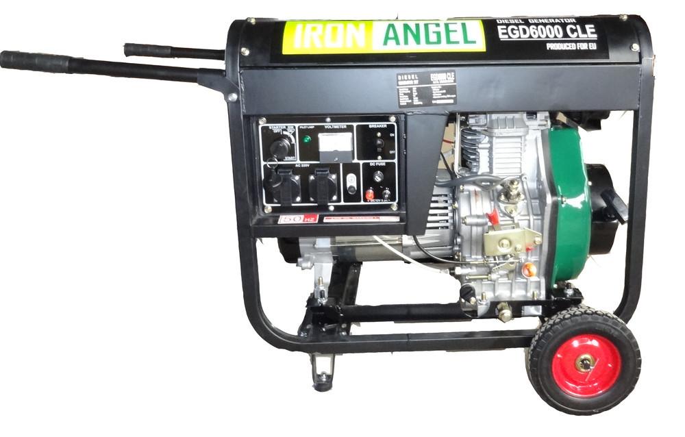 Дизельный генератор IRON ANGEL  EGD 6000 CLE