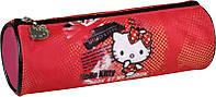 Пенал-тубус 640 Hello Kitty-1 мягкий Kite, 1 отделение