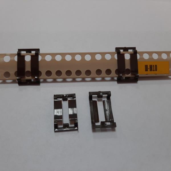 Крепления для штукатурных маяков из пластика, упаковка 100 шт