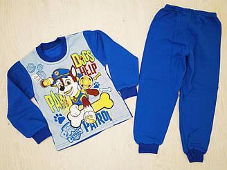 Пижама для мальчика на байке, котон 100%, Украина, Детки- текс, рр. 92-98, арт. 0309,