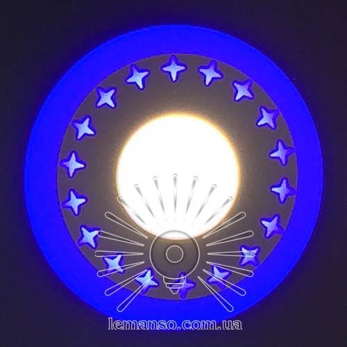 """LED панель Lemanso """"Звезды"""" 18+6W с синей подсветкой 1440Lm 4500K 175-265V / LM550"""