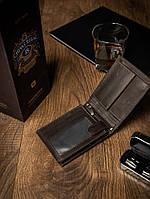 Чоловічий гаманець коричневий натуральна шкіра Buffalo