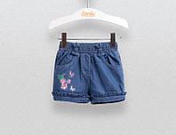 Шорты для девочки Bembi ШР551 джинсовые 98