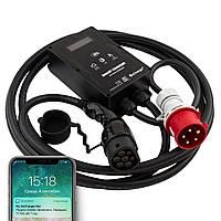 OnCharger Type 2 3x32A 22kW WIFI 4G NFC Зарядная станция для электромобилей (OC3BL-32A-Mennekes)