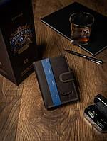 Чоловічий гаманець коричневий шкіра Buffalo