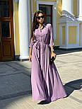 Женское платье макси (в расцветках), фото 7