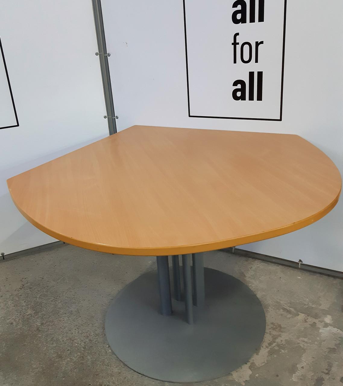 Стильный угловой стол. Стол Капля