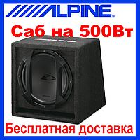 Сабвуфер ALPINE SBE-1044BR (пассивный, 500/150 Вт)