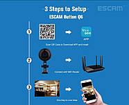 WiFi мини камера ESCAM Q6 (кнопка), фото 5