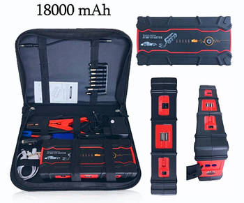 Пуско-зярядное устройство CarJump 800А 12В 18000 мАч