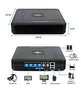 Комплект видеонаблюдения Hiseeu 2ch AHD-2MP 1080P Outdoor (2AHBB12), фото 4