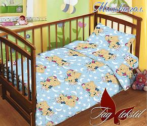 ТМ TAG Детский комплект Мишки голуб.