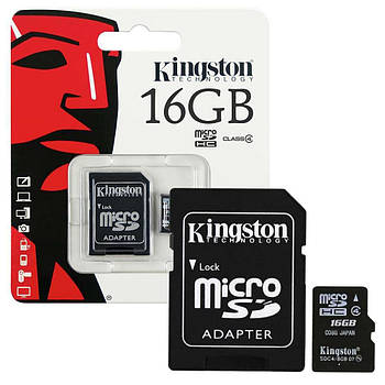 Kingston microSDHC Class 10 16Gb