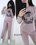 Женский стильный спортивный костюм с накаткой  (в расцветках), фото 2