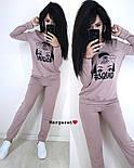 Женский стильный спортивный костюм с накаткой  (в расцветках), фото 5