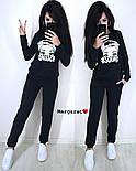 Женский стильный спортивный костюм с накаткой  (в расцветках), фото 7