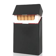 Коробка для сигарет портсигар кисет металлический в виде пачки сигарет DEDO, фото 2