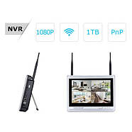 """Комплект WiFi видеонаблюдения Anran 4сh + 12"""" LCD (AR-B360), фото 3"""