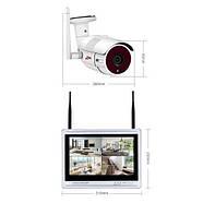 """Комплект WiFi видеонаблюдения Anran 4сh + 12"""" LCD (AR-B360), фото 5"""