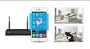 Комплект WiFi видеонаблюдения Anran 4сh (AR-K04W13-03NB), фото 5