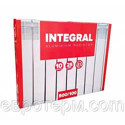 Радиатор алюминиевый INTEGRAL 500x100