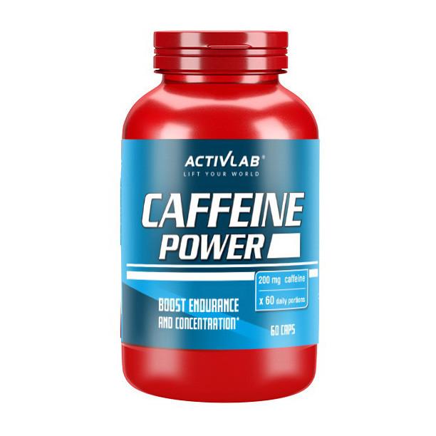 Кофеин Activlab Caffeine Power (60 капс) активлаб