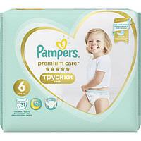 Подгузники-трусики Pampers Premium Care Pants Extra Large 15+ кг 31 шт 8001090759917