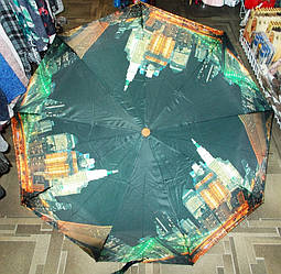 Зонт полуавтомат антиветер модель №10