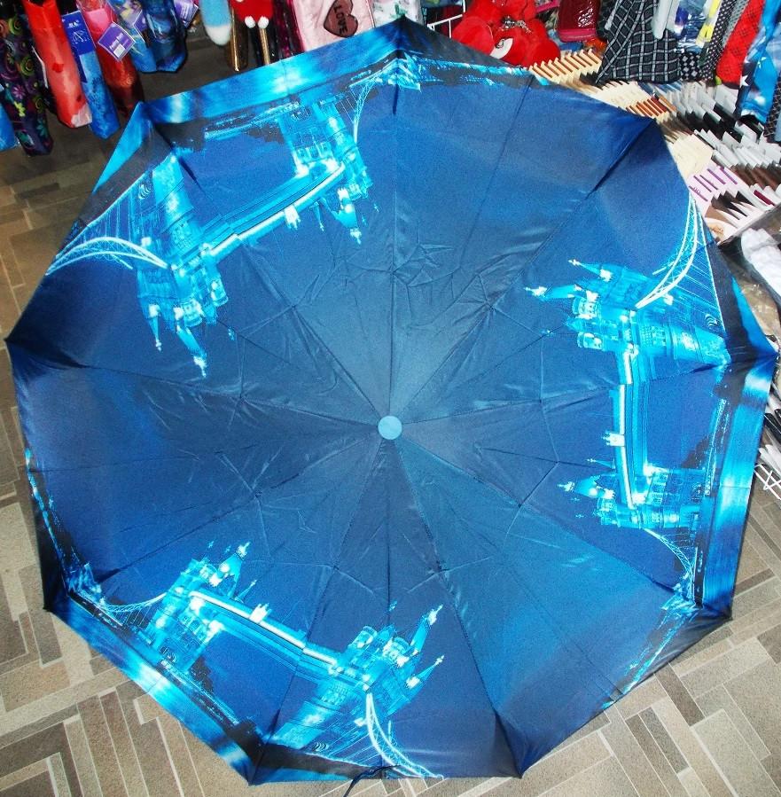 Зонт полуавтомат антиветер модель №12