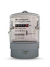 Лічильник електроенергії NiK 2102-02 М1 однофазний однотарифний 5 (60) А 220В