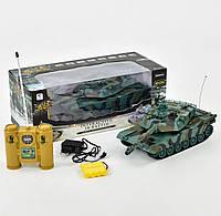 """Танк на радиоуправлении 99804 """"Abrams М1А2"""", аккум. 4.8V, свет, звук, в коробке"""