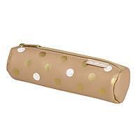 Пенал-косметичка Herlitz Round Leather Pure Glam искусственная кожа 50021994