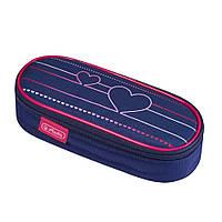Пенал Herlitz Case Flap Heartbeat Сердце 50021178