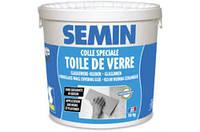 Клей специальный для стеклохолста и стеклообоев, влагостойкий Semin COLLE TOILE DE VERRE 10 кг, в Днепре