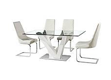 Стол обеденный со стеклянной столешницей Лоренц Sof, фото 2