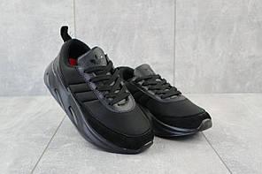 Кроссовки женские B 207 -5 DS 17940 черные-черные (текстиль, весна/осень)