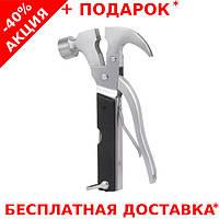 Многофункциональный молоток-гвоздодер Инструмент Мультитул Tac Tool 18 in 1