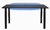 Компьютерный геймерский стол CreateHome с LED подсветкой