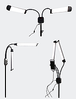 Косметическая лампа с держателем для телефона 40W LED BEND
