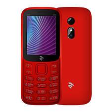 Кнопочный мобильный телефон 2E Mobile Phone E240 2019 Dual Sim батарея 1400 мАч + кнопка SOS, фото 3