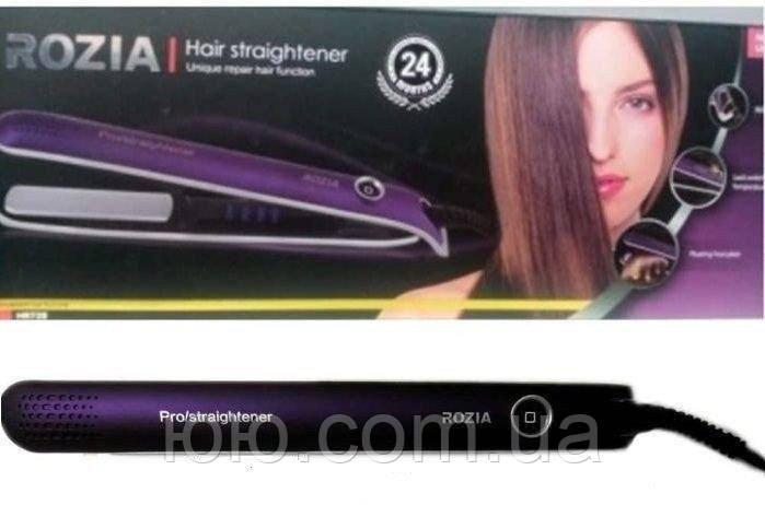 Утюжок для выпрямления волос Rozia HR-728