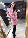 Женское платье из ангоры с поясом  (в расцветках), фото 2