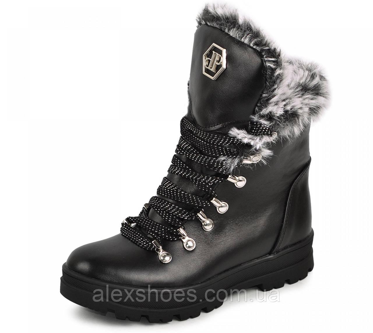 Ботинки подростковые для девочки из натуральной кожи от производителя модель МАК1580