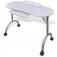 Косметологический стол для мастера маникюра vidaXL